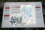 Schautafel am Hadrians Wall (nahe Gilsland / England).
