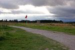 Schlachtfeld bei Culloden (Highlands).