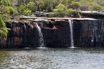 Der kleine Wasserfall bei Wattamolla