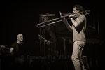 Bojan Z & Nils Wogram © Emmanuelle Vial 2014