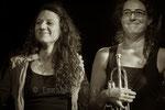 Leila Martial et Airelle Besson © Emmanuelle Vial 2013