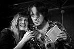 Elise Caron & Edward Perraud © Emmanuelle Vial 2012