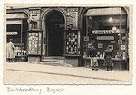 Lehrbetrieb von 1930 bis 1940: Buchhandlung Boysen
