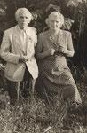 Die Eltern: Fritz (1890-1959) und Hertha (1895-1985) Borchert; Aufnahme aus dem Jahre 1951