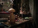 Schwammerlkonglomerat in der alten Werkstatt