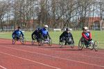 Training mit Kollegen in Büsum 2010