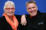 Das Trainer-Ehepaar Heini und Köberle