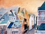 """Jean-Pierre BALAS      """"St Malo""""     aquarelle"""