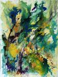 """Michel GRES                      """"Encres 20""""            encres de couleur     50x80"""