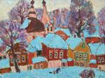 Зимний городок.2008.Х.,м.45х59