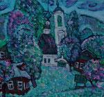 Весенние надежды.2008.Х.,м.60х65