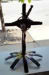 Cruciform, Guinotte Wise (Sculpture) $200 SOLD