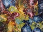 Vigorous Exclamation, (Acrylic Resin & Paints) $1400