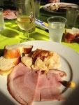 Familie Heuberger verwöhnte die hungrigen Oberburger mit einem feine Essen!