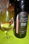 Weisswein aus einer Rotweinflasche...?