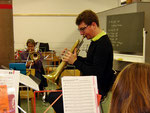 """Jan findet immer wieder einen """"Chrump"""", aus welchem er virtuose Töne entlockt"""
