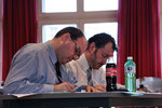 Die Experten Matthias Leuthold und Andreas Moser