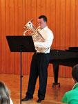 ein wahrer Virtuose auf dem Euphonium