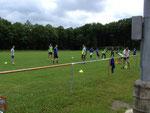 Trainingseinheit Sportplatz 11.00 Uhr