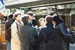 """Literatur-Tour """"Wir Frankfurter Steppenwölfe"""", Frankfurt (2003)"""