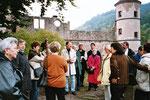 """Literatur-Tour """"Mit Hesses Werk in Hesses Heimat"""", Hirsau (2003)"""