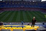 Endlich im Stadion