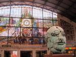 Juni - Christine Danninger - Bilbao Bahnhof