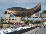 Der Peix (Fisch) ist eine einzigartige Skulptur, die 1992 im Hafengebiet Barcelonas gebaut wurde