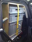 Stauboxen für Zubehör