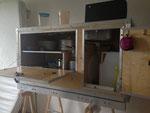Küchenblock mit Innenleben