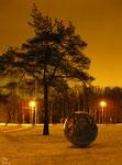 Дерево и земной шар