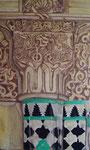 Detalle Columna Alhambra. Óleo dm 60 x 100.NO DISPONIBLE