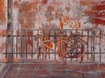 La bici óleo dm 75 x 54 cms