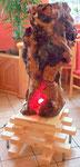 Lichtobjekt - 2013 -  Obstbaum mit Farbwechsel LED Lampe