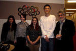 MMID-RG Mentored Lab at Pace: Yael Moskowitz, Cady Wulenweber, Kristin Wichter, Alvin Li, Dr. Sossin