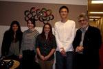 MMID-RG Mentored Lab at Pace: Yael Moskowitz, Cady Wulenweber, Kristin Wichter, Alvin Li, Dr. Sossin