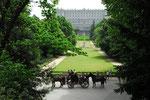 Königspalast, Westfassade und Campo del Moro Gärten