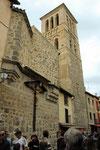 in der Santo Tome´Straße mit der gleichnamigen Kirche