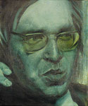 Ludwig Bock, Verteidiger  45 x 55 cm