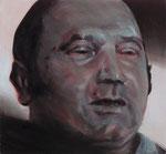 Emil Laurich, Angeklagter  70 x 65 cm