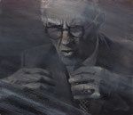 Dr. Jan Nowak, Zeuge, ehem. Häftling  70 x 60 cm