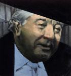 Günter Bogen, Vorsitzender Richter  85 x 80 cm