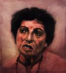 Maryla Reich, Zeugin, ehem. Häftling  85 x 95 cm