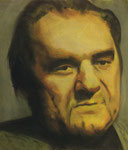 Erwin Mierick, Prozeß-Beobachter  60 x 70 cm