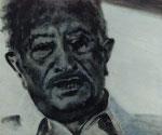 Simon Wiesenthal, Ermittler  63 x 50 cm