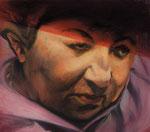 Chawa Jakubowicz, Zeugin, ehem. Häftling  80 x 70 cm