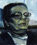 Luzie Moschko, Zeugin, ehem. SS-Aufseherin  75 x 90 cm