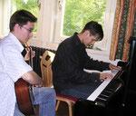 Musizieren im Rittersaal