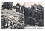 Postkarte der Wandervogelherberge von 1926