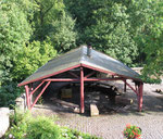 Grillhütte auf dem Burghof